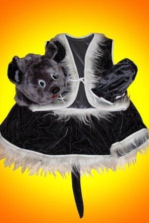 Мышка - девочка