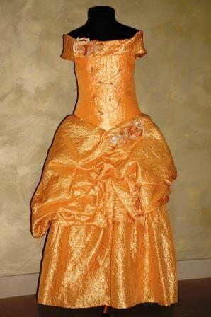 Платье Вероника золотое
