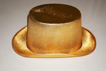 Цилиндр золотой