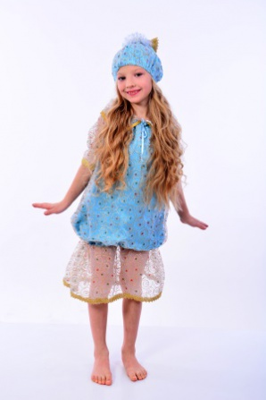 Хлопушка-Конфетка голубая
