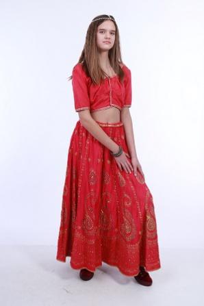 Индийский с юбкой