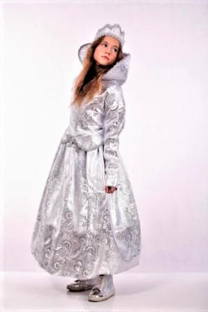 Снежная Королева (парча, корсет) модель 2