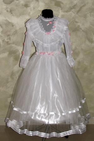 Платье белое Неля