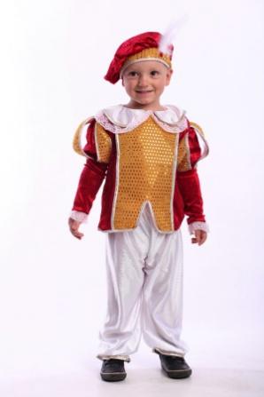 Маленький принц красный