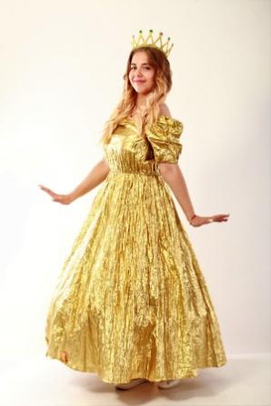 Принцесса золотая