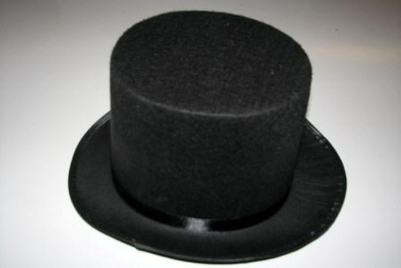 Шляпа - цилиндр фетровая