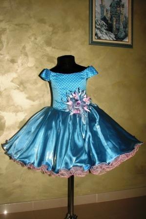 Платье голубое Стиляга