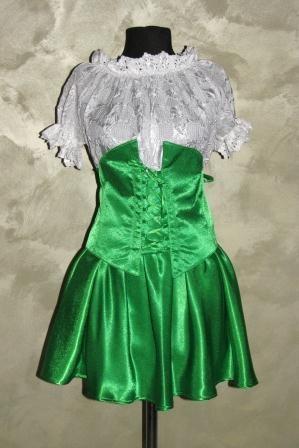 Пастушка в зеленом
