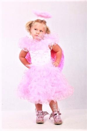 Ангел розовый модель 6