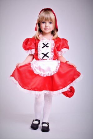 Красная шапочка с сумочкой модель 3