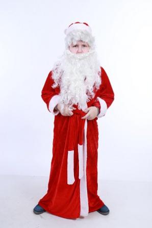 Дед Мороз красный мех